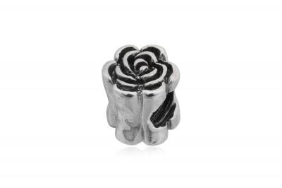 Pandantiv Trandafir din argint pentru bratari