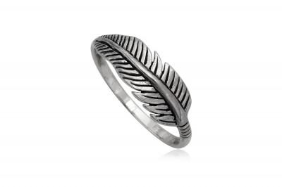 Inel model Pana din argint 925