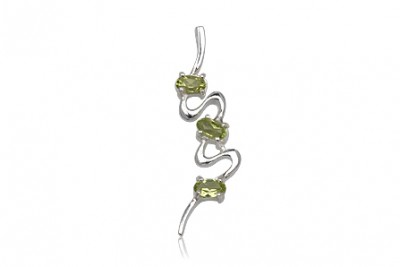 Pandantiv Model Abstract cu peridot