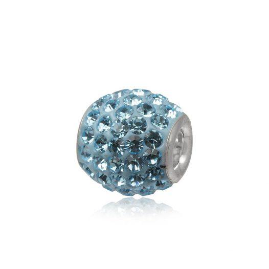 pandantiv bratari cu cristale bleu aqua