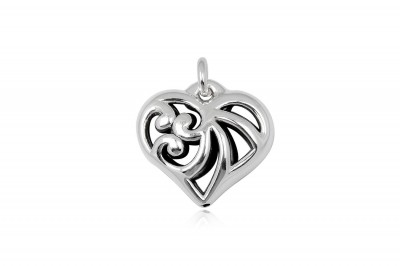 Pandantiv Inima din argint 925