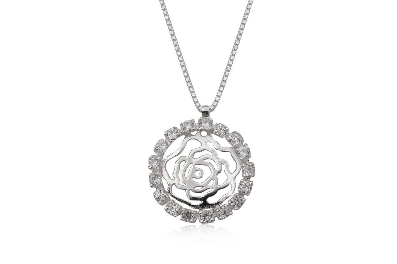 colier romantic din argint