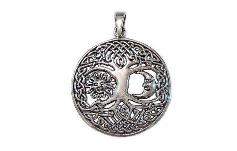 pandantiv copacul vietii model celtic