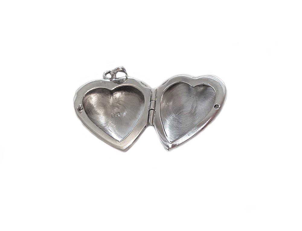 pandantiv caseta inima romantica
