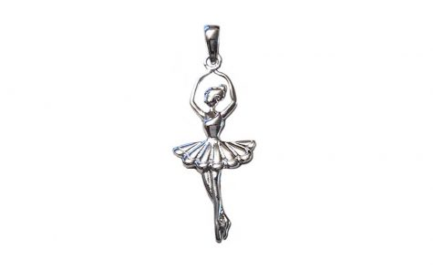 pandantiv balerina din argint