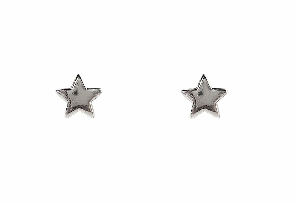 cercei stele argintii