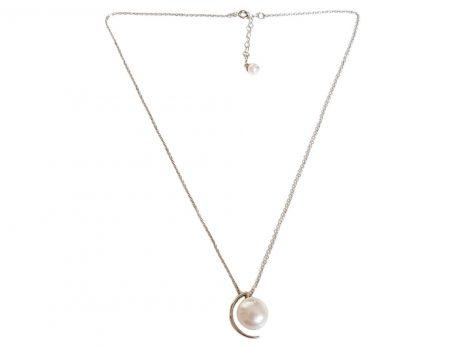 colier argint cu perla naturala