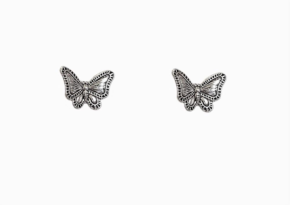 cercei fluturi minunati argint
