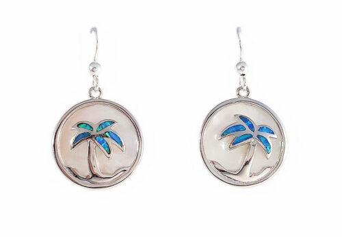cercei cu palmieri argint