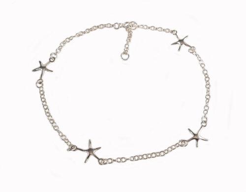 bratara glezna argint cu stele de mare