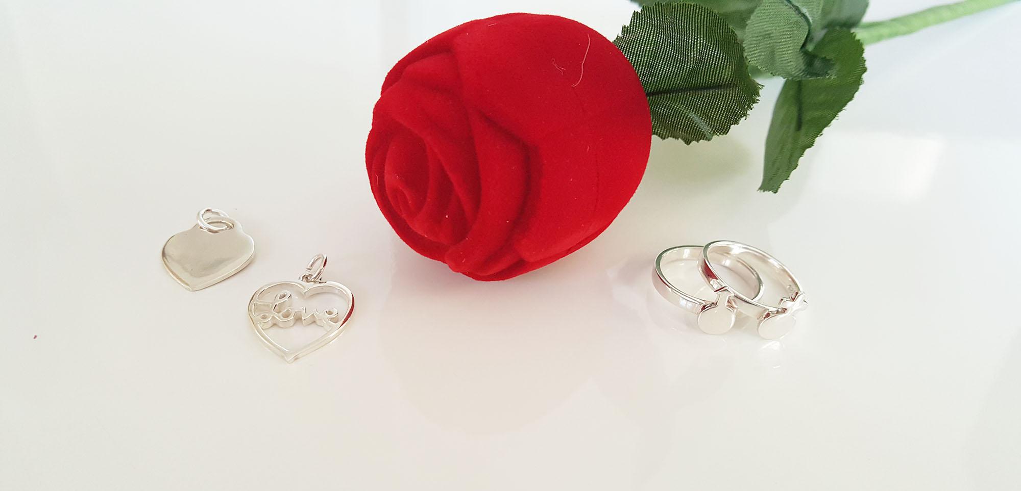 cadouri bijuterii din argint valentines day