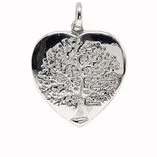 pandantiv inima si copacul vietii