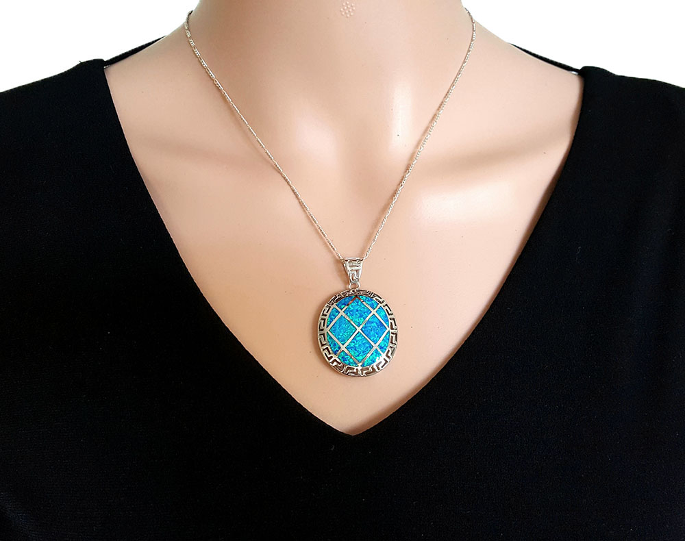 medalion statement cu opal