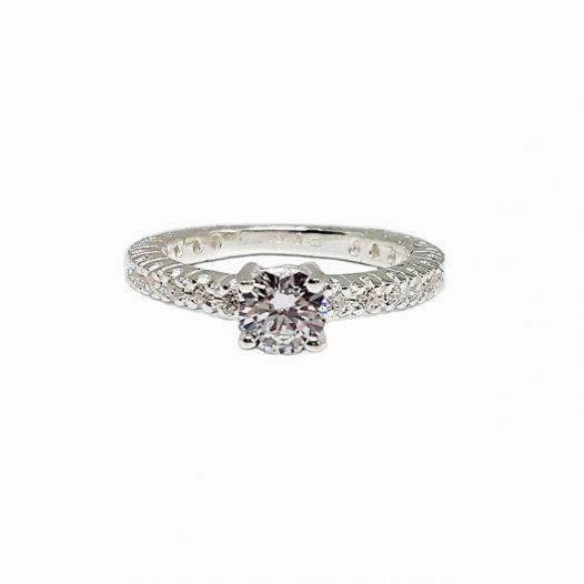 inel de logodna stralucire de diamant