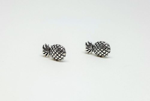 cercei argint model ananas