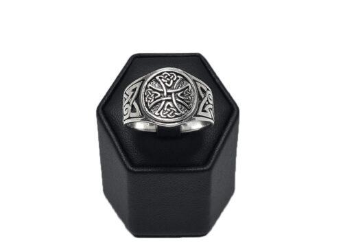 inel argint barbati celtic