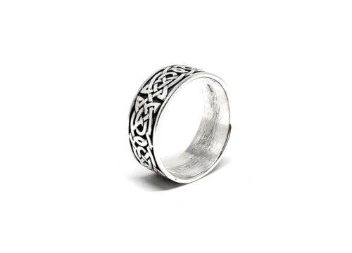 inel argint barbati ornamente celtice