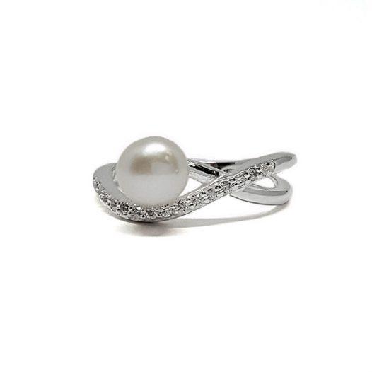 inel finut cu perla naturala