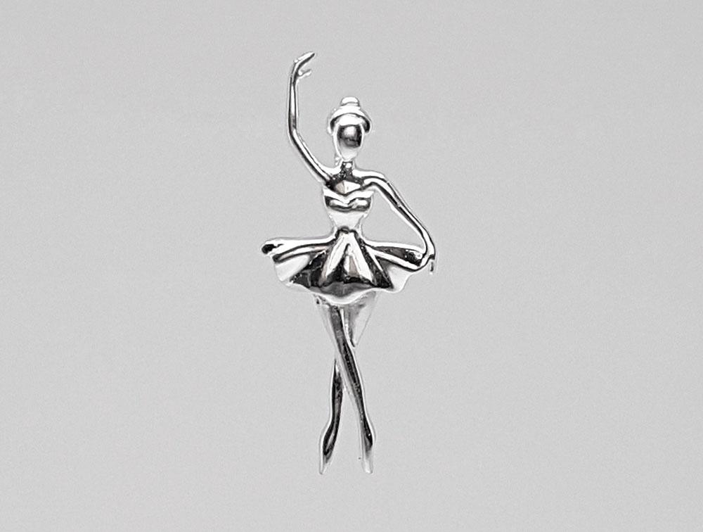 pandantiv balerina delicata argint