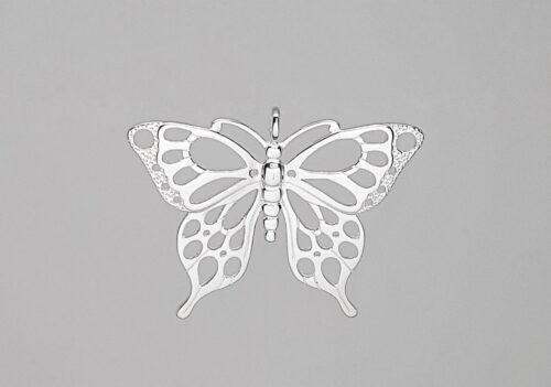 pandantiv fluture din argint 925