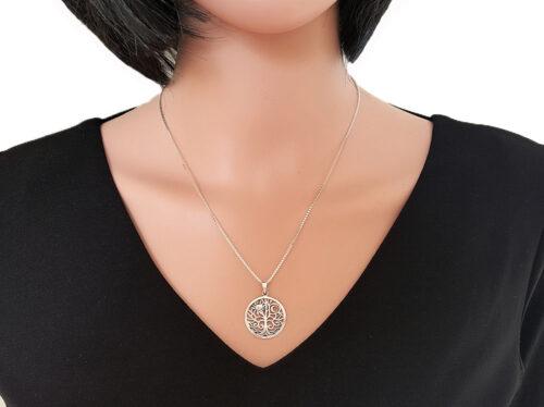 medalion copacul vietii din argint