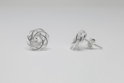 cercei fire impletite din argint