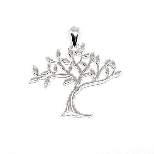 pandantiv copacul vietii argint