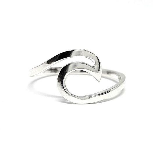 inel valurile marii din argint