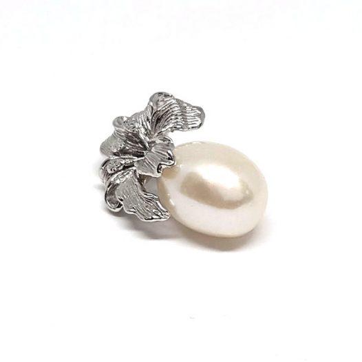 crin din argint si perla naturala