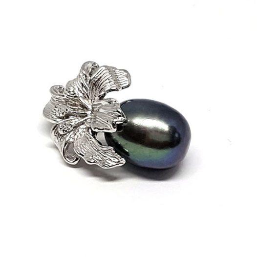 pandantiv cu perla neagra