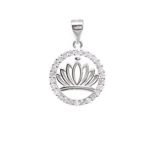 medalion cu floare de lotus