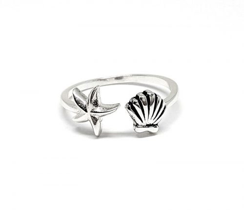 Inel din argint model marin