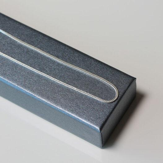 lant argint model sarpe