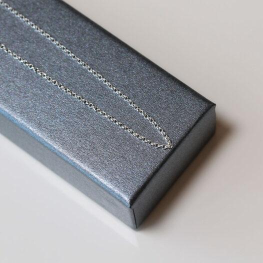 lant din argint cu zale