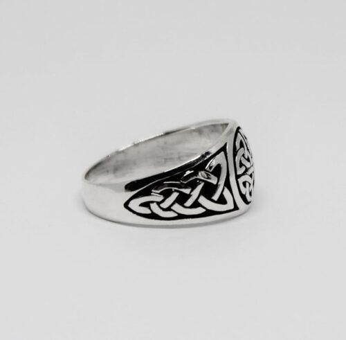 inel din argint barbatesc