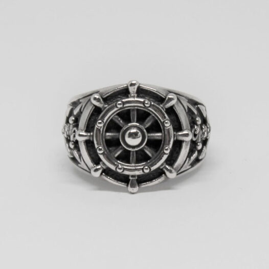 inel din argint model marinaresc