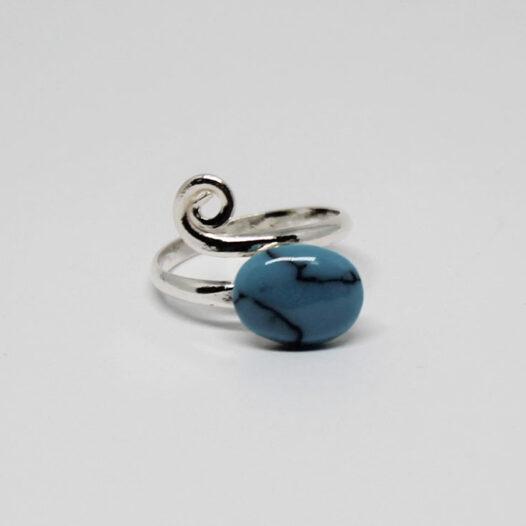 inel din argint cu turcoaz