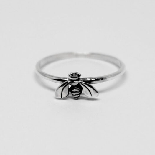 inel albina din argint