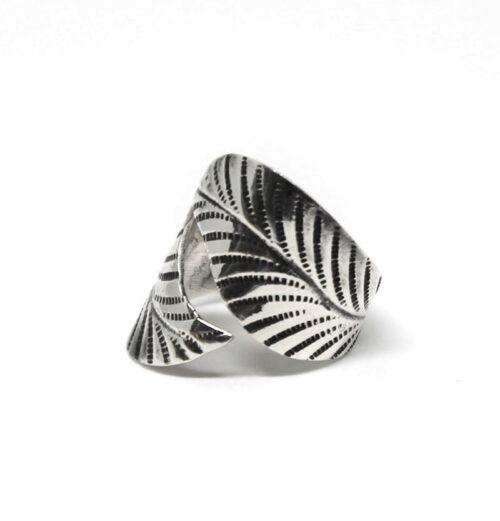 inel argint aspect antic