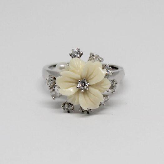 inel romatic din argint