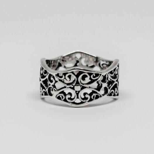 inel verigheta din argint 925