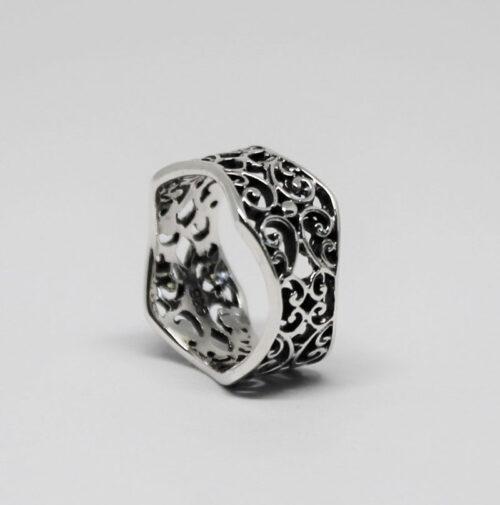 inel superb din argint