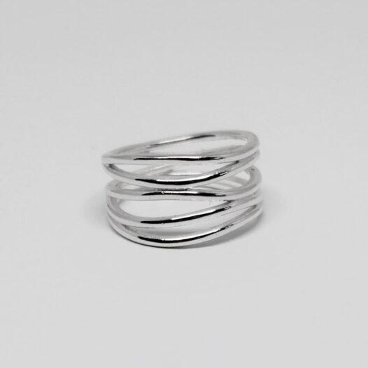 inel modern din argint