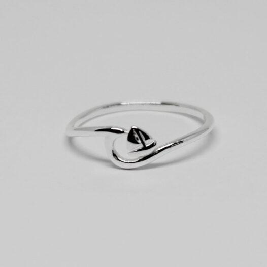inel cu vaporas din argint